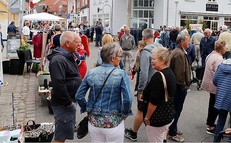 Populær torvedag i Nibe rykker atter ud lørdag