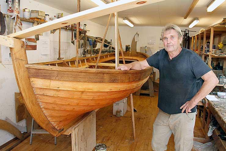 Flere års arbejde til at genskabe gammelt skib – en redningsbåd!