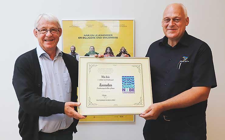 100-årig Nibe-virksomhed blev slået til æresmedlem