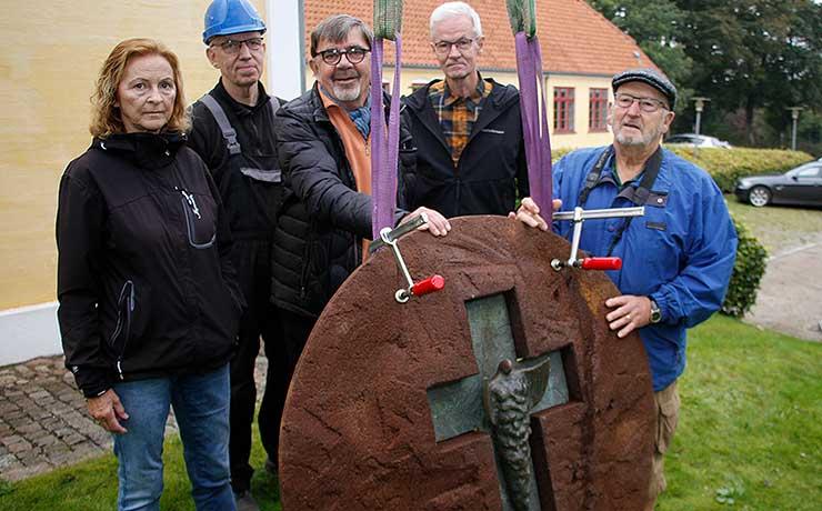 Ny kunst til Sønderholm Sognegård