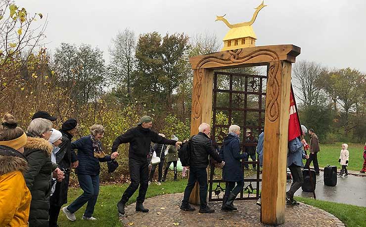 Sønderholm fejrede sin åbne dør