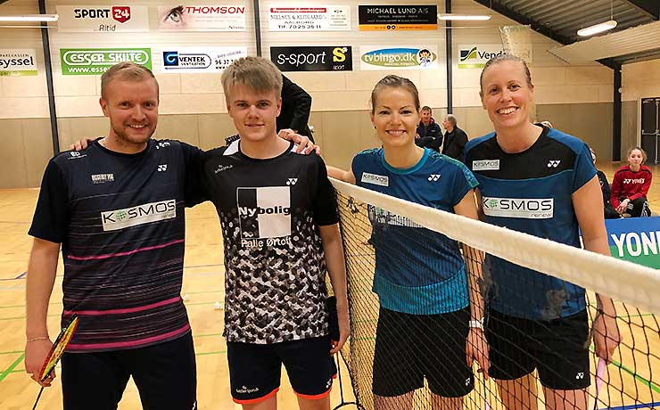 All England badminton mestre på visit i Frejlev