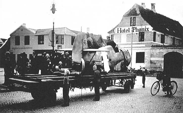 Modstanden mod tyskerne voksede også i Nibe