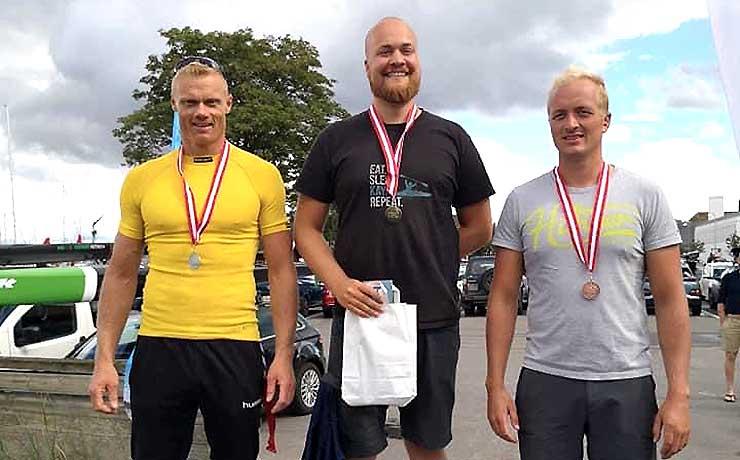 DM-bronze til Nibe Roklubs Casper Pedersen