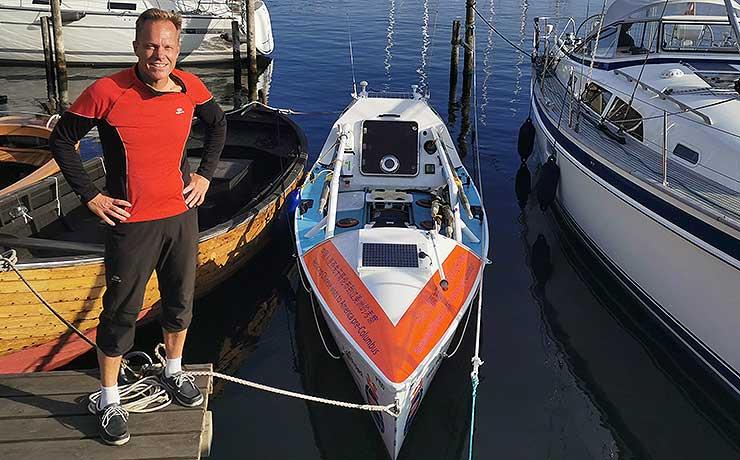 På eventyr: I robåd over Atlanterhavet – og nutil Nibe mandag!