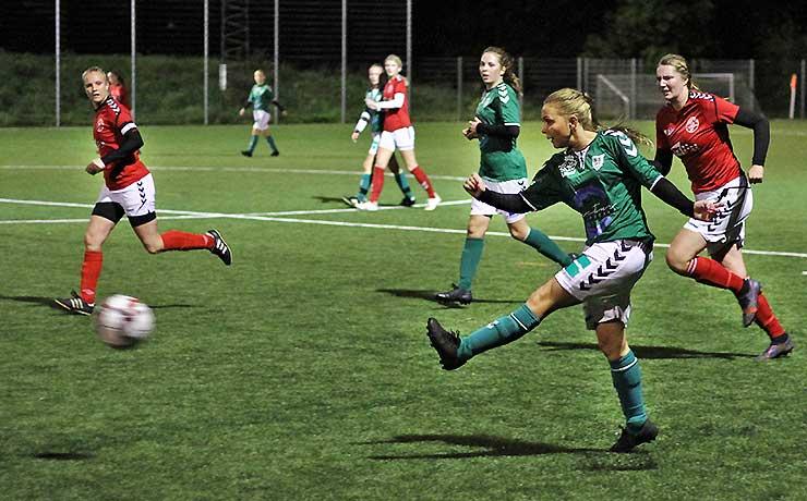 Fornem sejr over topholdet i kvindernes Jyllandsserie