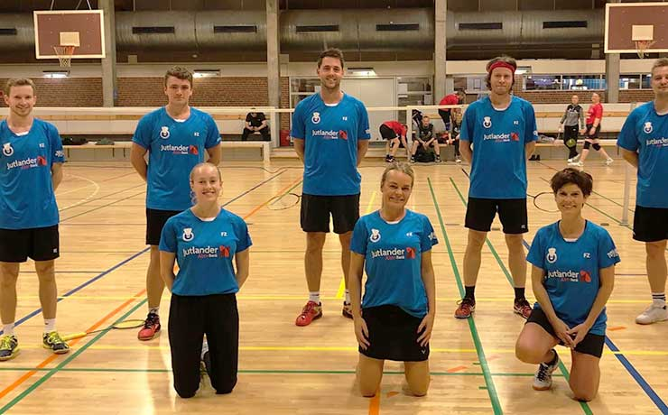 God holdrunde for Bislev-Nibe Badmintonklub