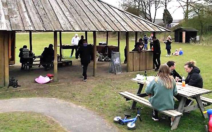 Sønderholm by ryddede op i naturen