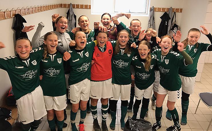 Arbejdssejr og historisk pokalfinale i vente for U15 pigerne