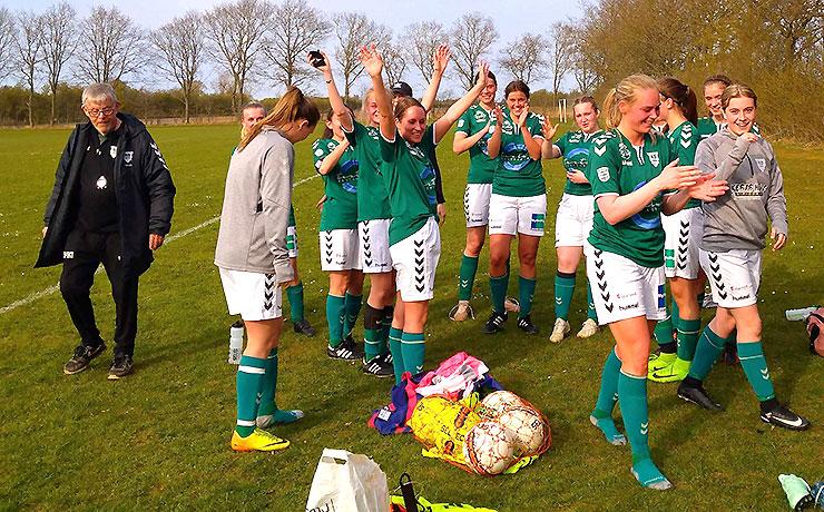 Flot disciplineret indsats af Nibes Jyllandsserie kvinder