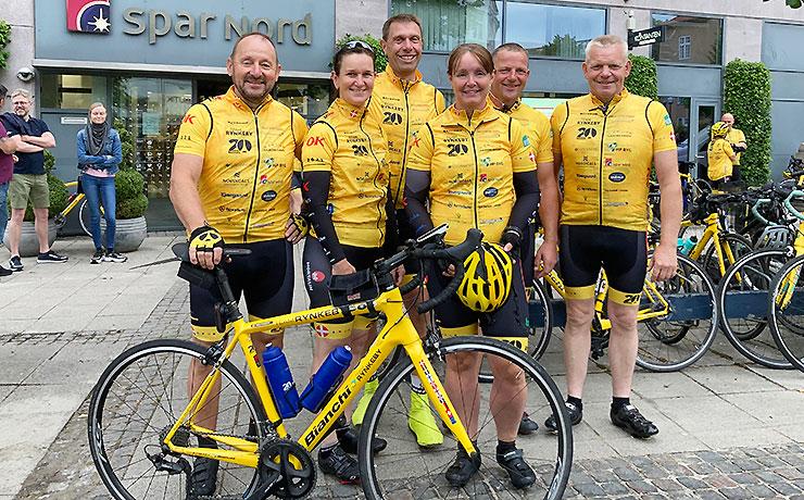 Nibe ryttere på Team Rynkebys Tour de Danmark