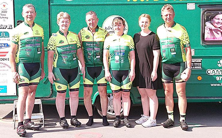 Danmark Rundt med Tour de Taxa Himmerland